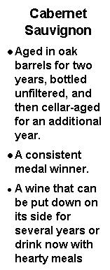 descriptif du cabernet sauvignon