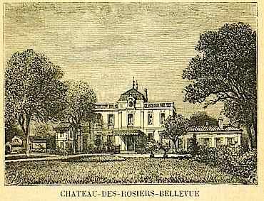 chateau des rosiers bellevue à gradignan