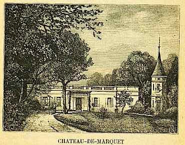 chateau de marquet à gradignan