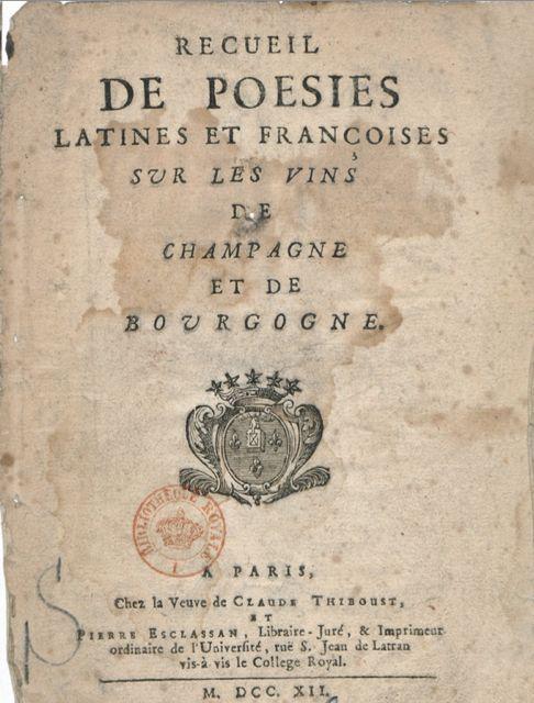 recueil de poesies
