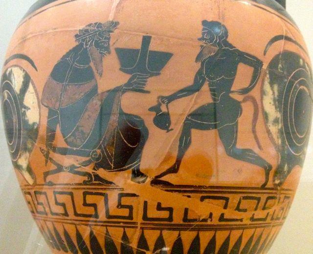 amphore Grèce 6ème siècle BC