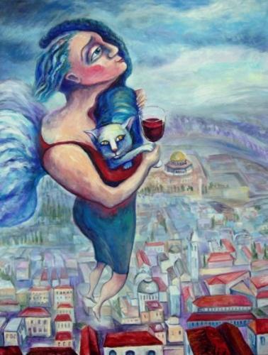 femme et le vin, de nesis elisheva