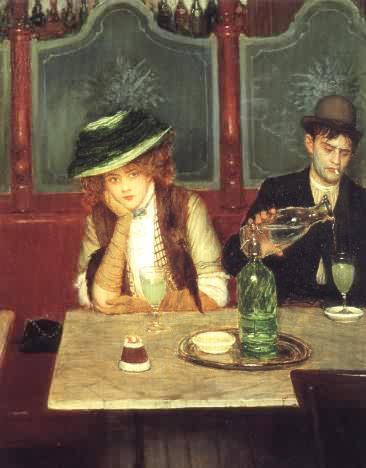 buveurs d'absinthe, de jean béraud