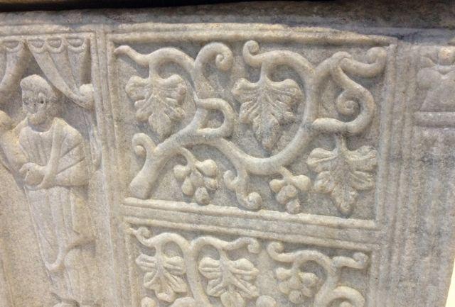 sarcophage du 6ème siècle, Castelnau de Guers