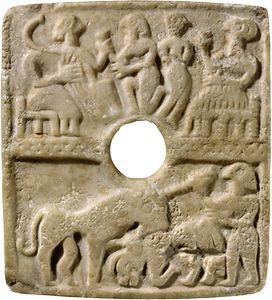 scène de banquet Suse, royaume d'Elam, vers 2600 BC