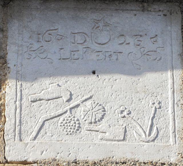 maison du vigneron chevalier Bert1623