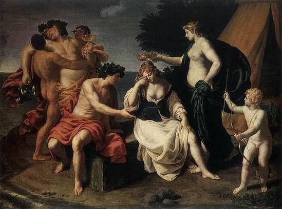 Alessandro Turchi - Bacchus et Ariane