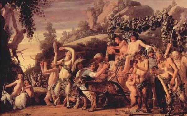 Claes Moeyaert - triomphe de Bacchus (1530)