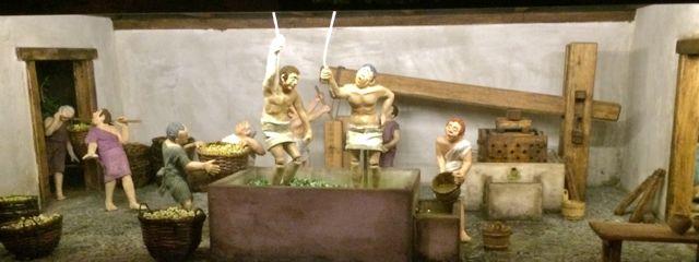 fouloir romain (maquette)