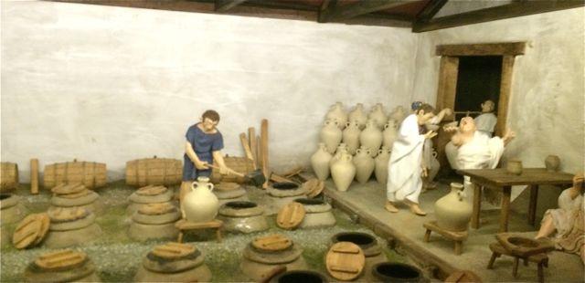 cave à l'époque romaine