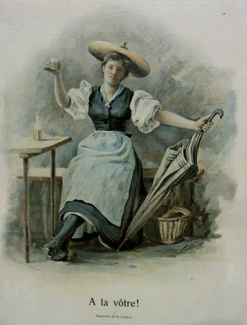 AlavotreaquarelleHippolyteCoutau1895