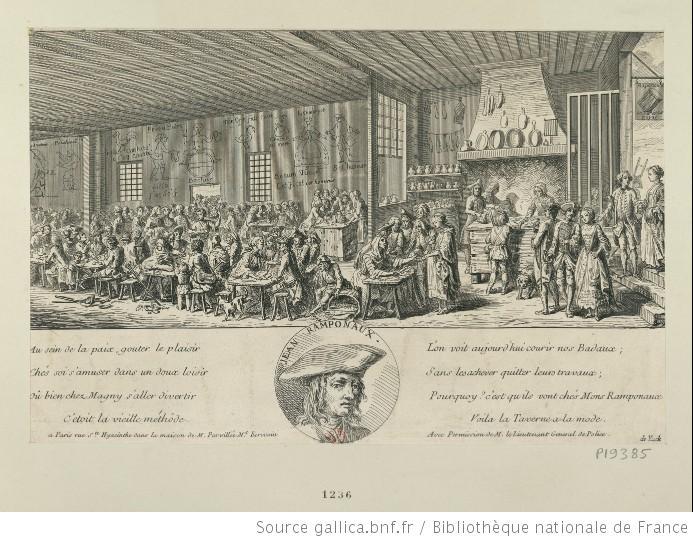 Au Tambour Royal de Jean Ramponneau C263f-gravurerampoint