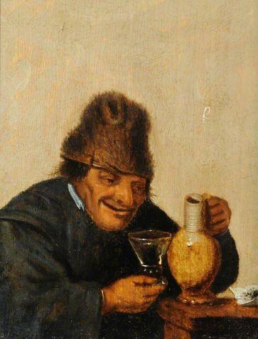 Mattheus_van_Helmont_-_Old_Man_Drinking