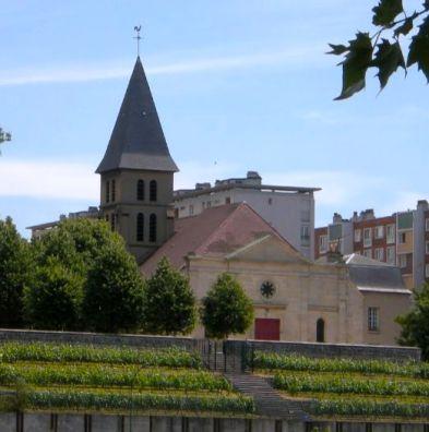 saint-ouen eglise et vignes2